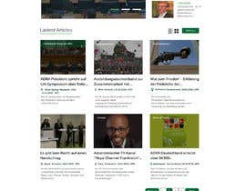 #145 for New layout for news agency website by Aloknano