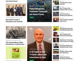 #154 for New layout for news agency website by syrwebdevelopmen