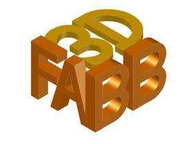 #9 for Combined 2D and 3D Logo for 3D printing / CAD service by saranyats