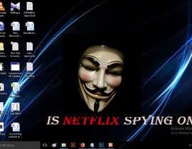 Nro 13 kilpailuun Create an image of Netflix spying users käyttäjältä MuhammadMatin