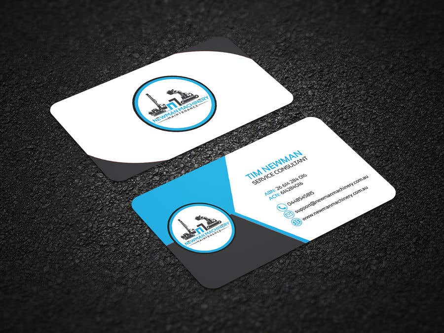 Entry #41 by nurmohammed00 for Business Cards Design (heavy industry ...