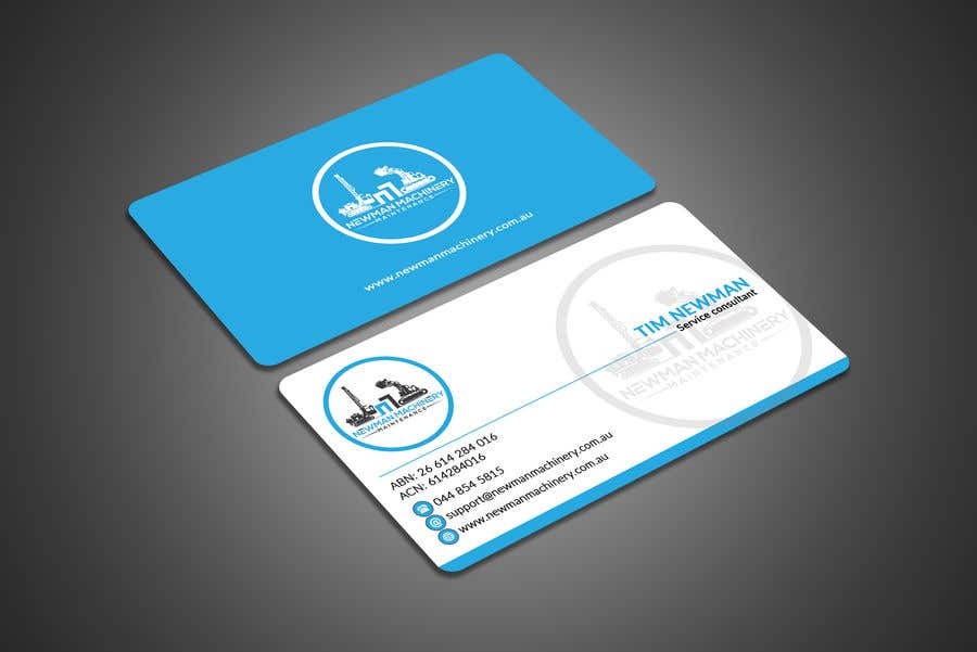 Entry 102 by sirajulovi for business cards design heavy industry business card reheart Choice Image