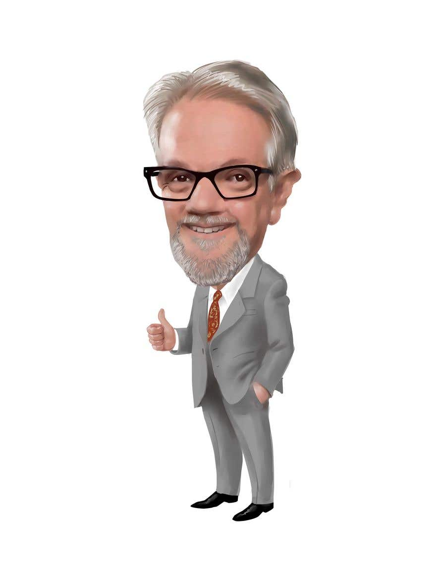 Kilpailutyö #48 kilpailussa Create a Cartoon / Caricature of my Boss !