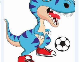 #9 for Dinosaur cartoon character - graphic design needed. by soulkarazo1234