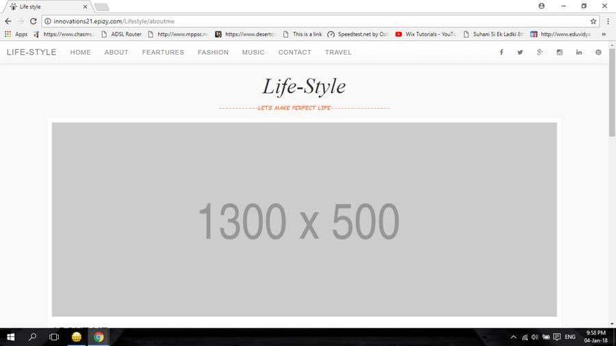 Penyertaan Peraduan #2 untuk Design a Website Mockup