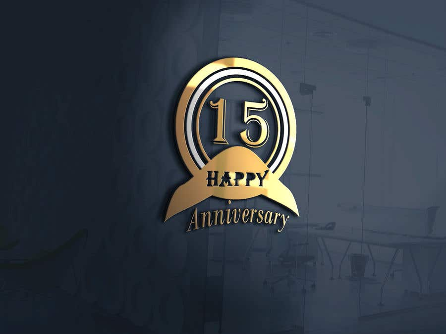Entry 24 By Bshehri For I Need A 15 Years Anniversary Logo Freelancer