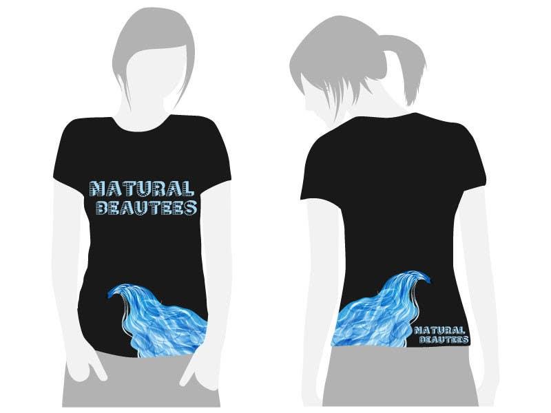 Konkurrenceindlæg #                                        5                                      for                                         T-shirt Design for Natural Beautees