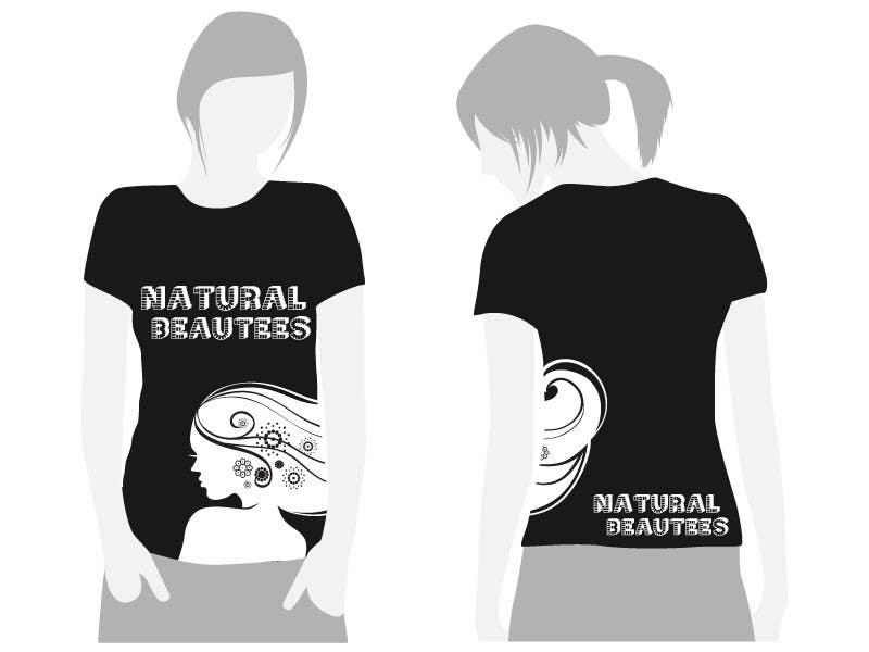 Konkurrenceindlæg #                                        14                                      for                                         T-shirt Design for Natural Beautees