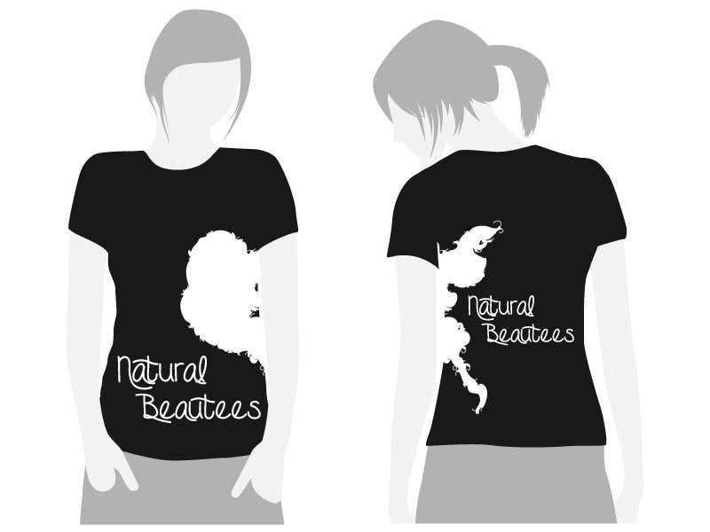 Konkurrenceindlæg #                                        21                                      for                                         T-shirt Design for Natural Beautees