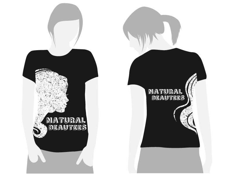 Konkurrenceindlæg #                                        15                                      for                                         T-shirt Design for Natural Beautees