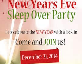 #6 cho Design a Flyer for a New Years Eve Sleep Over Party bởi mateodc
