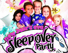 #8 cho Design a Flyer for a New Years Eve Sleep Over Party bởi georgemx