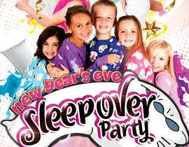 #10 cho Design a Flyer for a New Years Eve Sleep Over Party bởi georgemx