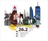 Bài tham dự #1 về Graphic Design cho cuộc thi Illustration Design for Generic Runners in Boston