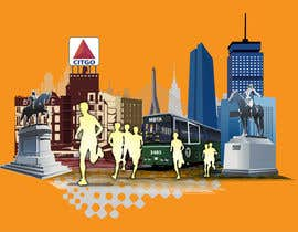 #7 for Illustration Design for Generic Runners in Boston by aneesgrace