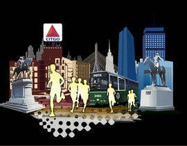 #4 for Illustration Design for Generic Runners in Boston by aneesgrace