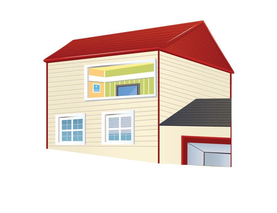 Inscrição nº 2 do Concurso para Illustration Design for Technology in a residential facility
