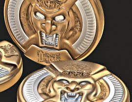 #11 for Sketch a realistic looking Dracula Coin by Watfa3D