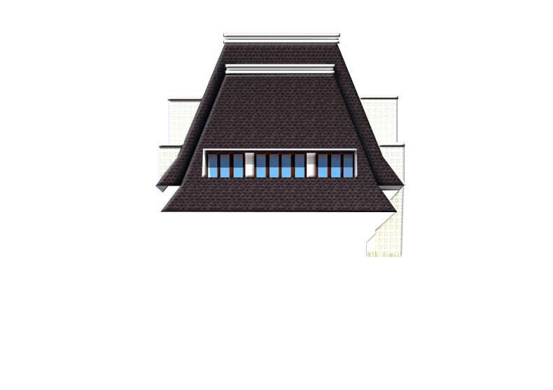 Bài tham dự cuộc thi #                                        14                                      cho                                         Illustration  3D architectural facade