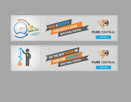 #33 untuk Design 2 home page Banners for our website oleh graphline