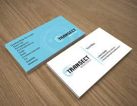 #54 para Business Card Design for Transect Industries por midget