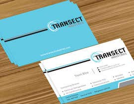 #32 untuk Business Card Design for Transect Industries oleh jobee