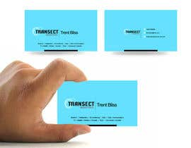 #11 para Business Card Design for Transect Industries por vigneshsmart