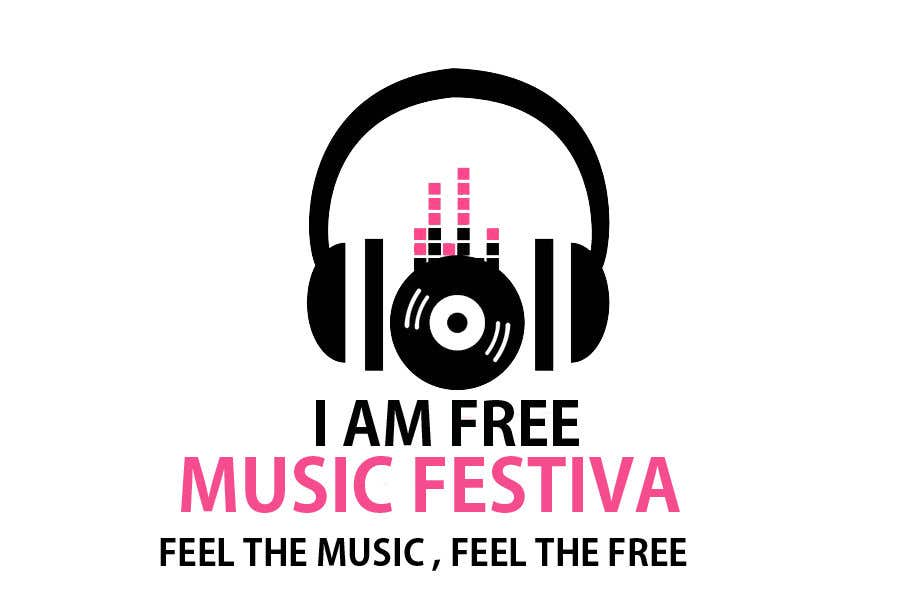 Entry #35 by graphictania for I Am Free Music Festiva | Freelancer