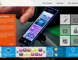 Nro 21 kilpailuun Website Design for OutCode käyttäjältä eb007