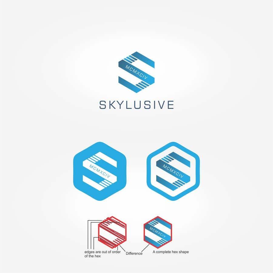 Penyertaan Peraduan #78 untuk Re-design my company logo into a sky-blue theme