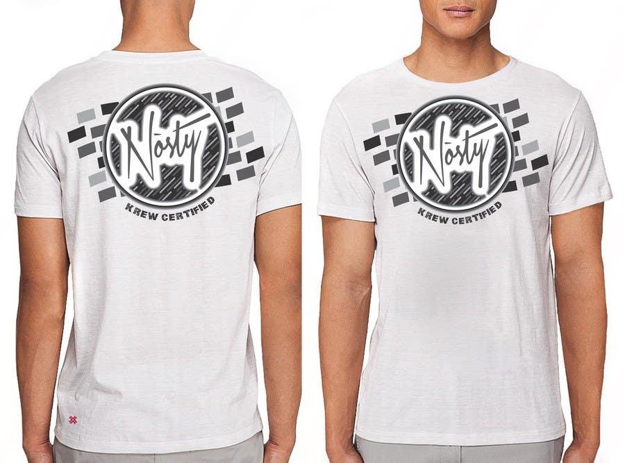 Bài tham dự cuộc thi #50 cho T-shirt Design for Nòsty Krew