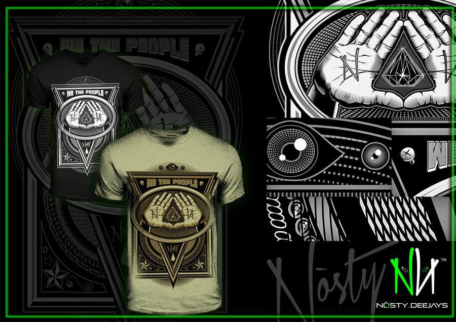 Bài tham dự cuộc thi #39 cho T-shirt Design for Nòsty Krew