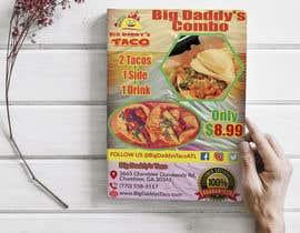 #43 para Make a Restaurant Poster COMBO flyer por mahafuzurmp