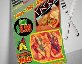 #51 para Make a Restaurant Poster COMBO flyer por mahafuzurmp