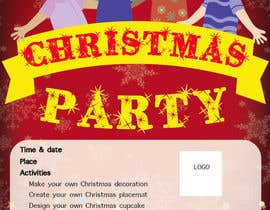 MlleTina tarafından Design a Flyer for Christmas kids party için no 15