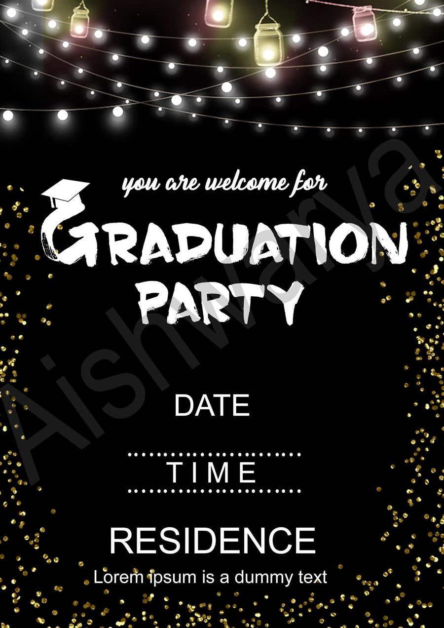 Entry #31 by yashmodi18 for Party Invitations | Freelancer