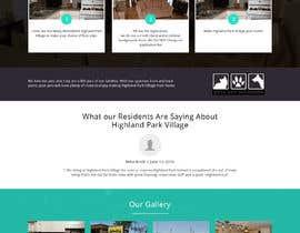 #24 for Design a Website Mockup for Apartment Homes by yasirmehmood490
