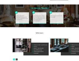 #39 for Design a Website Mockup for Apartment Homes by ByteZappers