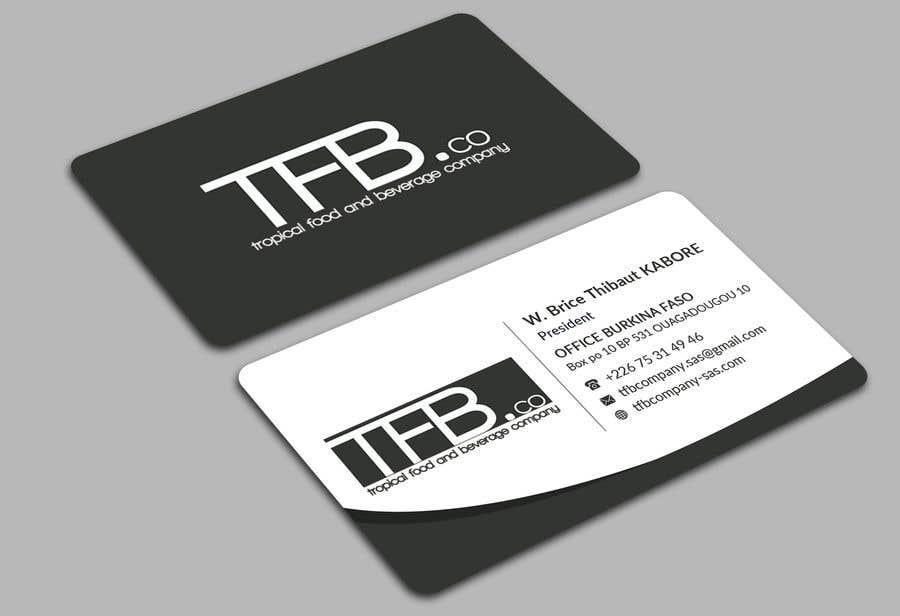 Contest Entry 166 For Conception De Carte Visite Business Card