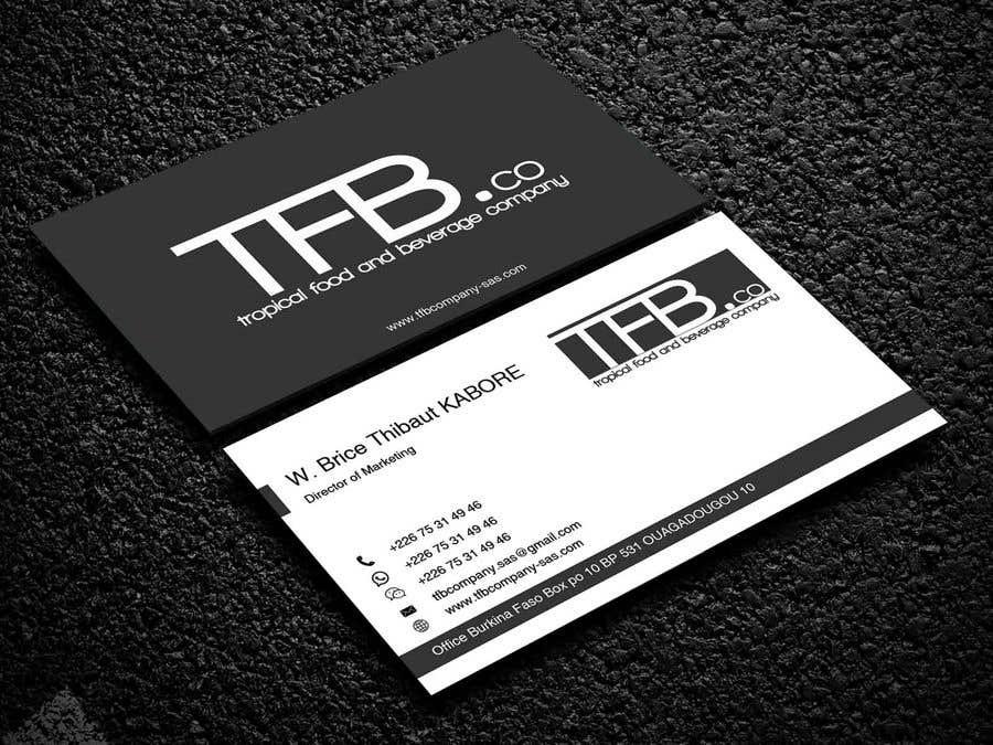 Contest Entry 179 For Conception De Carte Visite Business Card