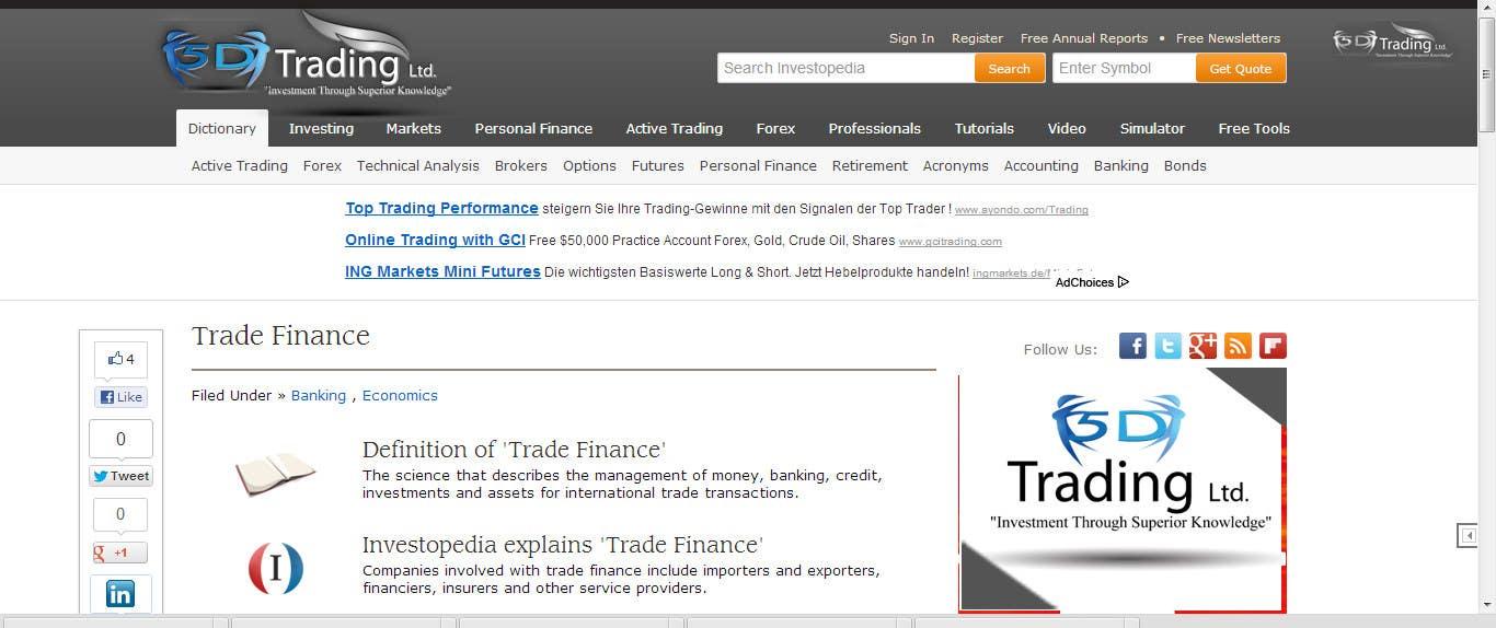 Inscrição nº                                         56                                      do Concurso para                                         Corporate Identity for 5-D Trading Ltd