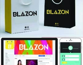 """#2124 for LOGO For """"BLAZON"""" by mojahid02"""