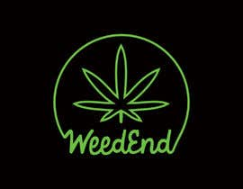 justrockingpatel tarafından Logo design with cannabis için no 110