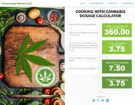 #3 for Create a cooking with cannabis dosage calculator for our website. by IntelliProducts