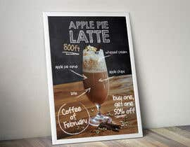 Nro 12 kilpailuun Design me a poster representing coffee of the month at size of A/1 käyttäjältä sofnes
