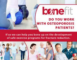 nº 33 pour Poster Design for Osteoporosis Canada- Bone Fit Program par mfbdeip