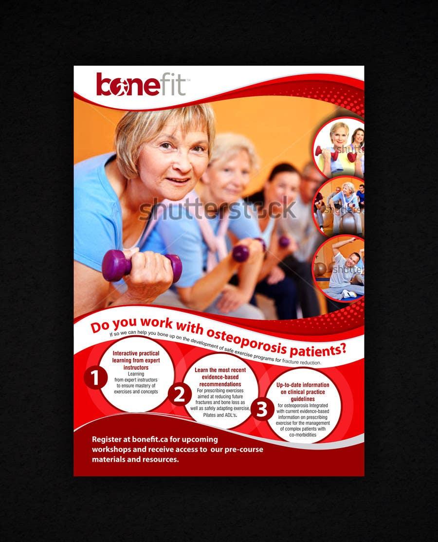 Конкурсная заявка №47 для Poster Design for Osteoporosis Canada- Bone Fit Program