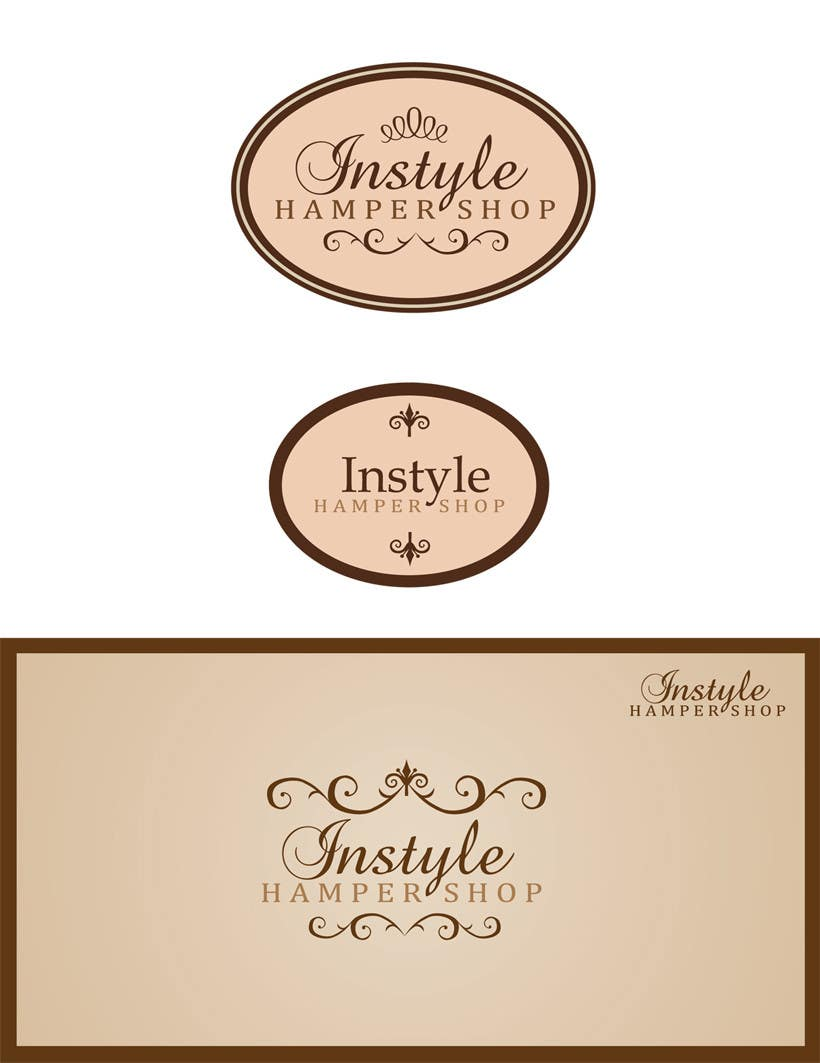 Konkurrenceindlæg #                                        199                                      for                                         Logo Design for Instyle Hamper Shop