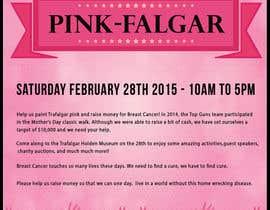 #21 untuk Design a Flyer for Pink-Falgar oleh sabhyata18