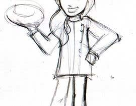 #10 para Create a cartoon Character called Chef Brittney por borkica